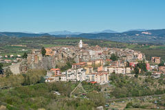 View of the city of orte Stock Photo