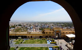 View from the City Palace. Udaipur. Rajasthan. India Stock Photography