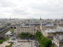 View of City of Paris France Royalty Free Stock Images