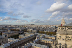 View of the city of Paris Stock Photo