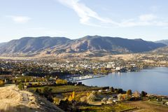 Penticton Okanagan Valley British Columbia Canada Stock Images
