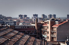 View of the city of Pesaro Royalty Free Stock Photo