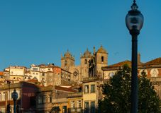 View of the city of porto royalty free stock images