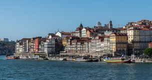 View of city of porto royalty free stock photography