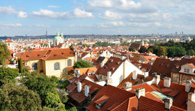 View of the city of Prague, Czech Republic Stock Image