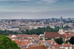 View on Prague royalty free stock photos