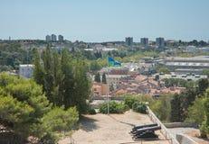 View of the city Pula. Croatia Stock Photos