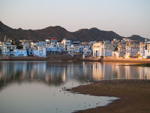 View of the City of Pushkar Royalty Free Stock Images