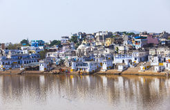 View of the City of Pushkar, Royalty Free Stock Photography