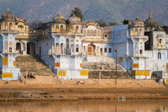 View of the City of Pushkar, India. Stock Images