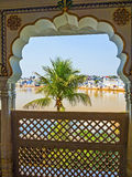 View of the City of Pushkar, Rajasthan Royalty Free Stock Photo