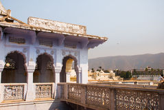 View of the City of Pushkar, Rajasthan, India. Royalty Free Stock Image