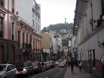 View of the city, Quito, Ecuador. Royalty Free Stock Photo