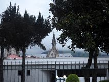 View of the city, Quito, Ecuador. Royalty Free Stock Photography