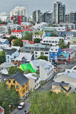 View on the city Reykjavik. Stock Images