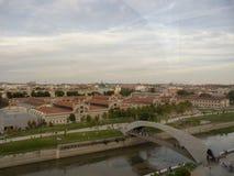 View of the `Matadero` of Madrid royalty free stock photo