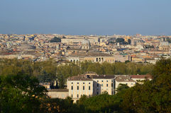 A View of the City of Rome Royalty Free Stock Photography