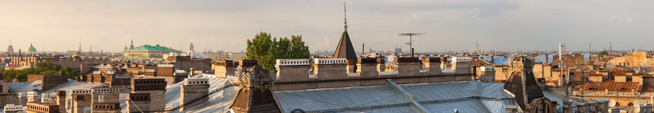Rooftops Royalty Free Stock Photo