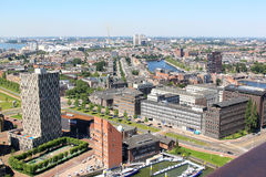View upon city of Rotterdam, Netherlands Stock Photography