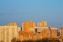 View of City, Russia Royalty Free Stock Images