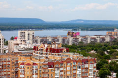 View of the city Samara Royalty Free Stock Photo