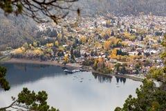 San Martin De Los Andes, Neuquen, Argentina. View of the city of San Martin De Los Andes located in the Lanin National Park, Neuquen, Argentina Stock Images