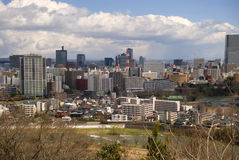 View of the city, Sendai, Japan Stock Photography