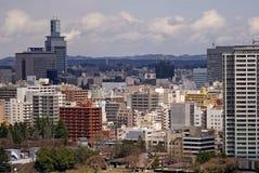 View of the city, Sendai, Japan Royalty Free Stock Photo