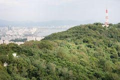 View of the city of Seoul Korea Royalty Free Stock Images