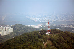 View of the city, Seoul, Korean Republic Stock Image