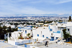 View of the city Sidi Bou Said Royalty Free Stock Image