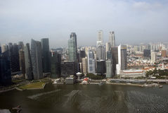 View of the city, Singapore Royalty Free Stock Images