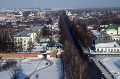 View of the city of Suzdal Royalty Free Stock Images