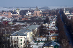 View of the city of Suzdal Stock Photos
