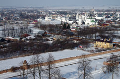 View of the city of Suzdal Stock Photography