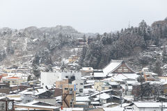 View of the city takayama in Japan Royalty Free Stock Photography