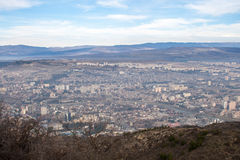 View of the city of Tbilisi. Tbilisi Royalty Free Stock Photos