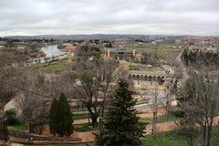 View of the city of Toledo stock image
