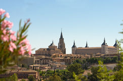 View on city of Toledo, Spain Stock Image