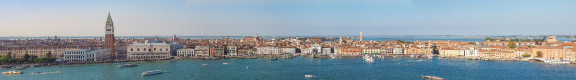 View of the city of Venice Royalty Free Stock Photos