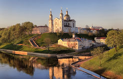 View of the city of Vitebsk Royalty Free Stock Photo