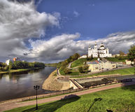 View of the city of Vitebsk Stock Photography