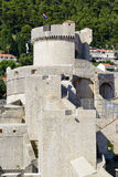 View on the city wall of dubrovnik Stock Image