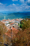 View from city walls, Motovun, Istria, Croatia stock images