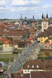 View city Wurzburg Germany Royalty Free Stock Images