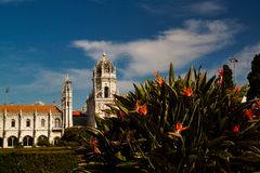 View of cityscape Old City Lisboa Lisbon Portugal. Europa royalty free stock images