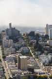 View on cityscape of San Francisco at daytime Stock Photo
