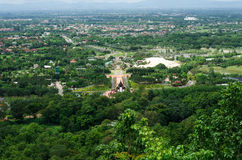 View of cityscape in Thailand Royalty Free Stock Images