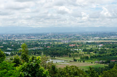 View of cityscape in Thailand Royalty Free Stock Photos