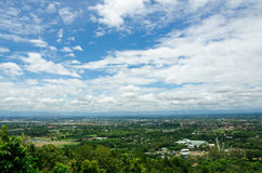 View of cityscape in Thailand Royalty Free Stock Image